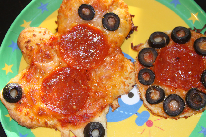 Fun Pizza Night Cutouts