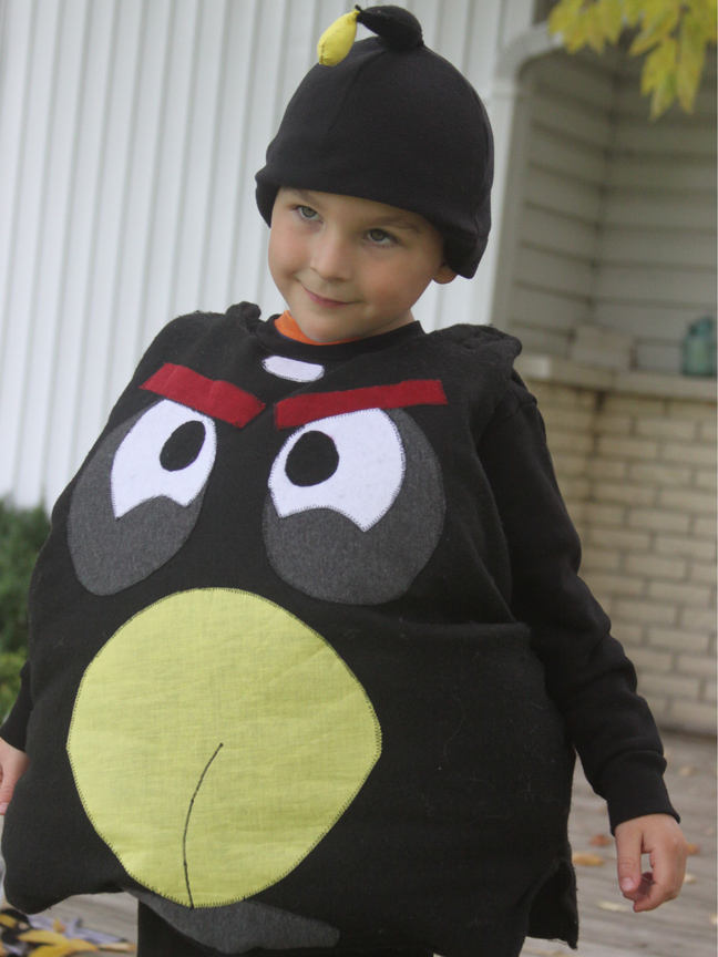 Do it yourself halloween costumes black angry bird a spotted pony he solutioingenieria
