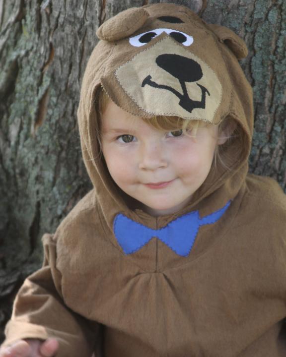Kids Yogi And Boo Boo Bear Halloween Costumes A Spotted Pony