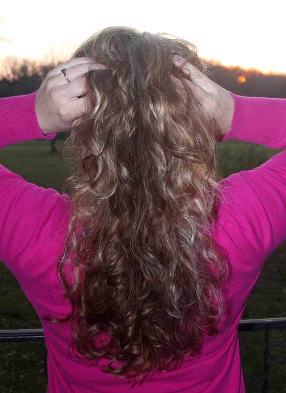 Curly Hair Without Heat Video How To Put A Sock Bun In