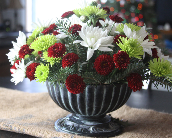 Make Three Beautiful Christmas Flower Arrangements