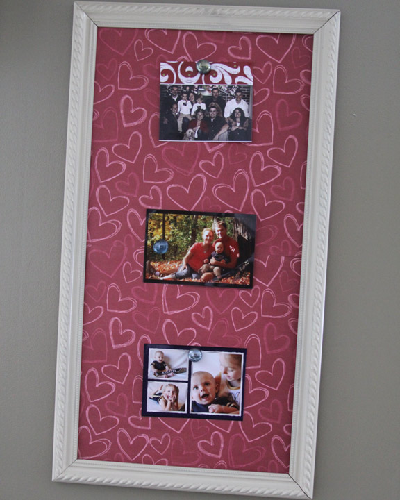 Make Your Own Interchangable Magnetic Memo Board Using A