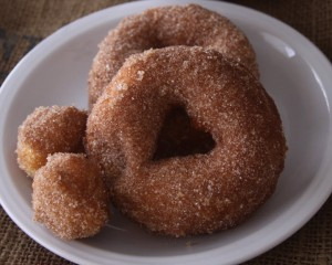 Lazy Girl's Semi-Homemade Doughnuts