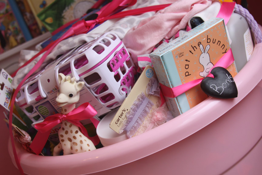 The best baby shower gift fill a tub with mom tested baby items after solutioingenieria Gallery
