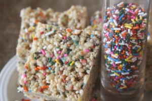 """Cake Batter Rice Krispies And Turning """"Almost 30?"""