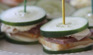 Healthy Lunch – Cucumber Sandwiches