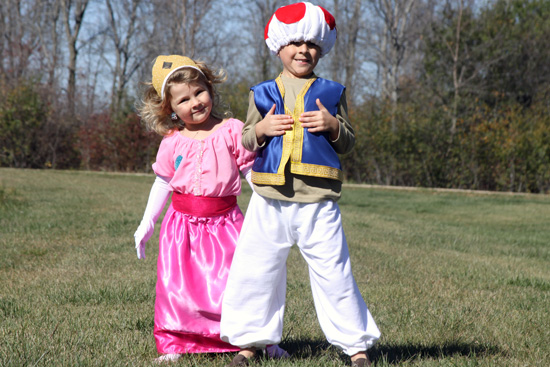 So ...  sc 1 st  A Spotted Pony & Kidu0027s DIY Princess Toadstool And Princess Peach Costumes | A Spotted ...