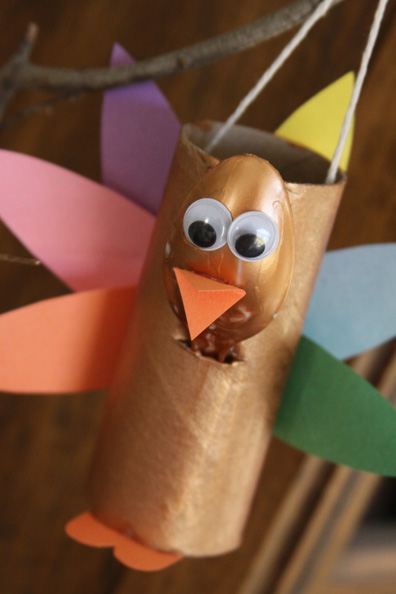 Toilet Paper Roll Turkey Craft For Kids A Spotted Pony