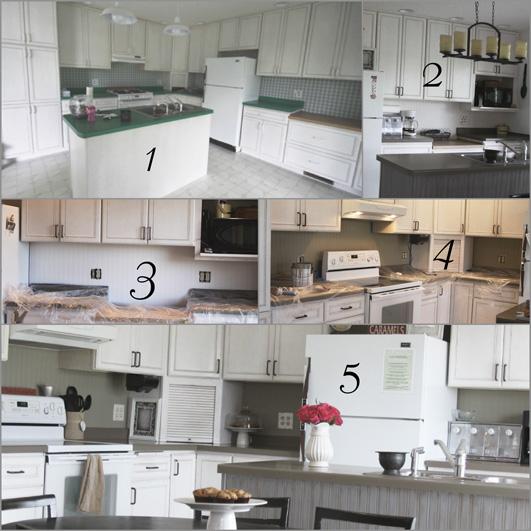 kitchen backsplash using beadboard wallpaper- transform your home