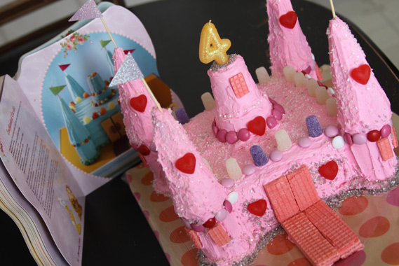 The Directions Seemed Simple Enough And I Even Thought We Could Do Much Better Than Cake Pictured In Book Decided On A Pink Castle Adorned With