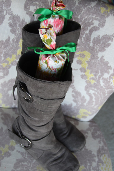 Pool Noodles Repurposed Into Pretty Boot Supports A Spotted Pony
