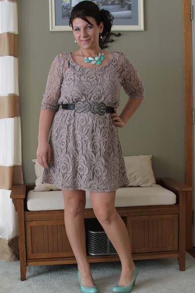 0fb9ae870a I think I came up with the perfect outfit that was comfortable,  sophisticated, but still fun. I also loved the idea of a long sleeved lace  dress because it ...