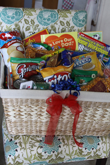 Gifts For Men Fathers Day Treat Gift Basket A Spotted