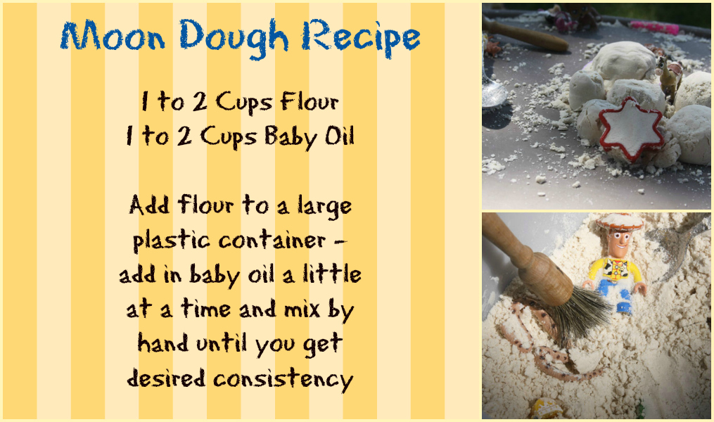 moon dough recipe