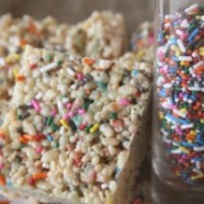 "Cake Batter Rice Krispies And Turning ""Almost 30"""