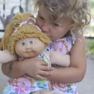 Sew Simple Matching Jersey Dresses For A Little Girl And Her Doll