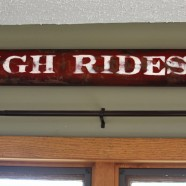 Do It Yourself Vintage Sleigh Ride Sign