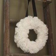 How To Create An Easy And Inexpensive DIY Coffee Filter Wreath