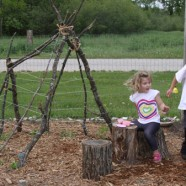 Garden Teepee – Fun For Kids Great For Plants