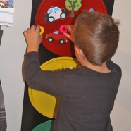 Stop And Go Light Magnetic Toy And Wall Art