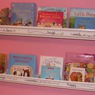 Girls Rain Gutter Bookshelves With Flare