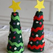 Kid's Felt Christmas Tree – Let Them Re-decorate It Over And Over