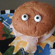 Silly Monster Sandwich – Halloween Lunch