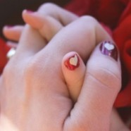 Valentines Day Inspired Nail Art – Use A Cricut Machine And Vinyl To Make Nail Stickers