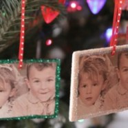 Make Your Own Personalized Photo Christmas Ornaments