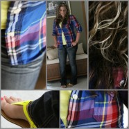 What I Wore Wednesday – Flip Flops And Flannel