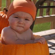 What Does Fall Mean To You? – A Baby In A Pumpkin Photo Idea