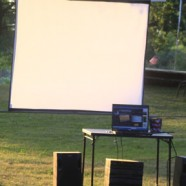 Do It Yourself Outdoor Movie Screen