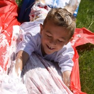 Shaving Cream Slide – Summer Fun For Kids