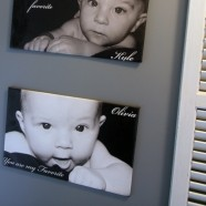 Repurpose Old Shutters – A Charming Kids Height Chart