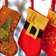 Make An Adorable Advent Calender – An Activity In A Stocking Each Day In December