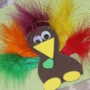 Kid's Turkey Craft – Make And Send I'm Thankful For You Cards